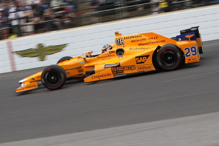 Fernando Alonso (ESP), 2017 Verizon IndyCar Series, Andretti Autosport McLaren Racing, Indianapolis 500