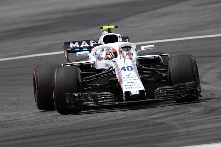 Robert Kubica - Williams Martini Racing - 2018 Austrian Grand Prix - Formula 1