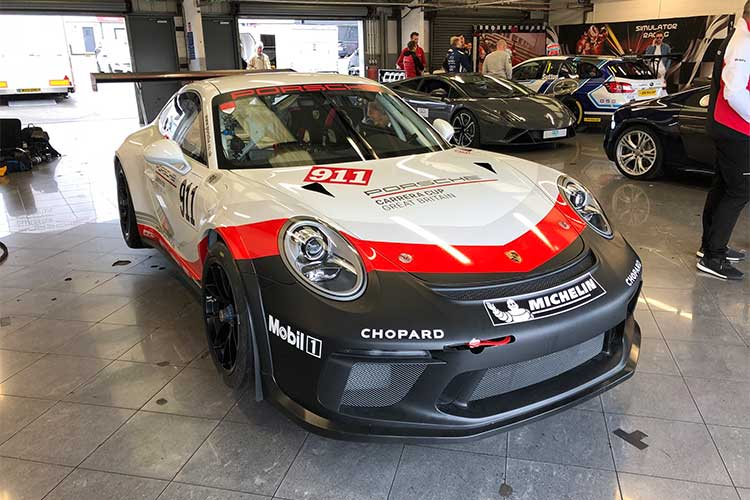 Chris Harris - Porsche Mobil 1 Supercup