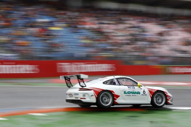 Nick Yelloly - Porsche Mobil 1 Supercup - Hockenheim Qualifying