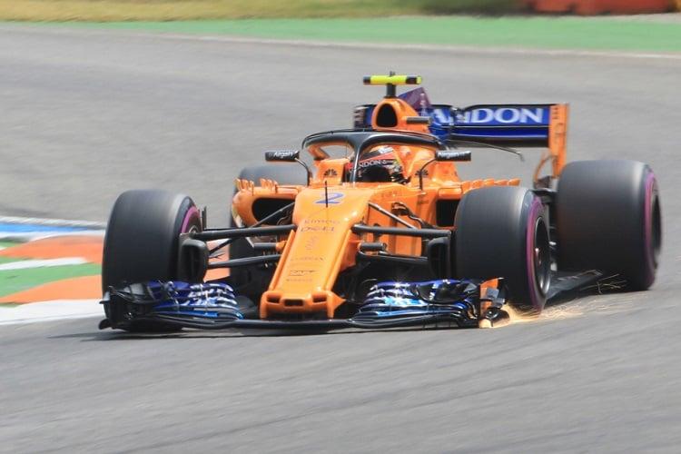Stoffel Vandoorne - McLaren F1 Team - Hockenheimring