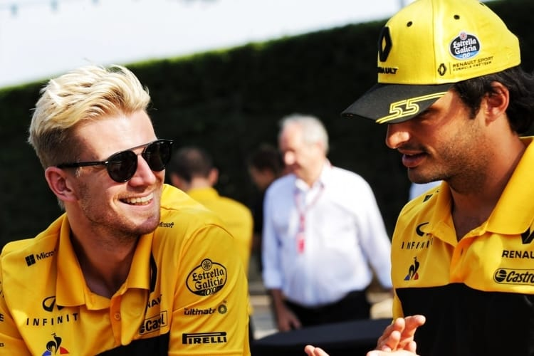 Nico Hulkenberg and Carlos Sainz Jr. - 2018 Hungarian Grand Prix