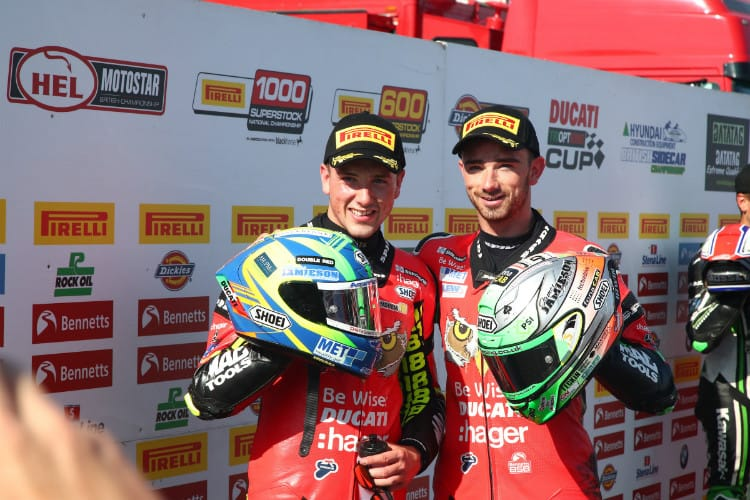 Irwin Brothers make History at Thruxton