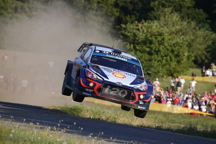 ADAC Rallye Deutschland, Thierry Neuville, Hyundai Shell Mobis World Rally Team