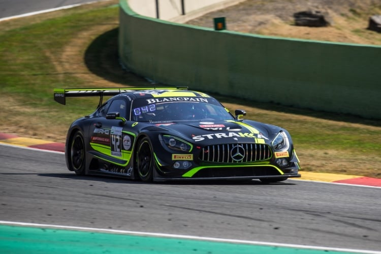 Strakka Racing, Mercedes AMG, GT3, #42, Nick Leventis, Chris Buncombe, Lewis Williamson, David Fumanelli, Total 24 Hours of Spa Spa Francorchamps Spa Belgium © Craig Robertson