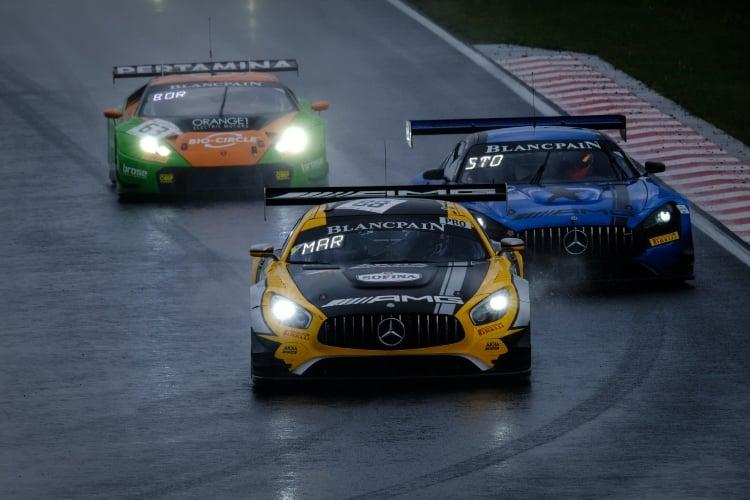 #88 AKKA ASP Team FRA Mercedes-AMG GT3 - Michael Meadows GBR Raffaele Marciello ITA, Race 2, Start | SRO / Dirk Bogaerts Photography