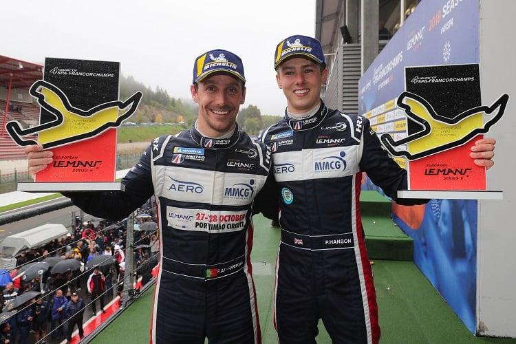 Filipe Albuquerque & Phil Hanson - United Autosports - Spa-Francorchamps