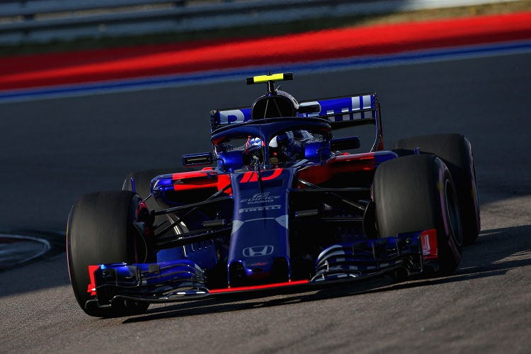 Pierre Gasly - Red Bull Toro Rosso Honda - Sochi Autodrom