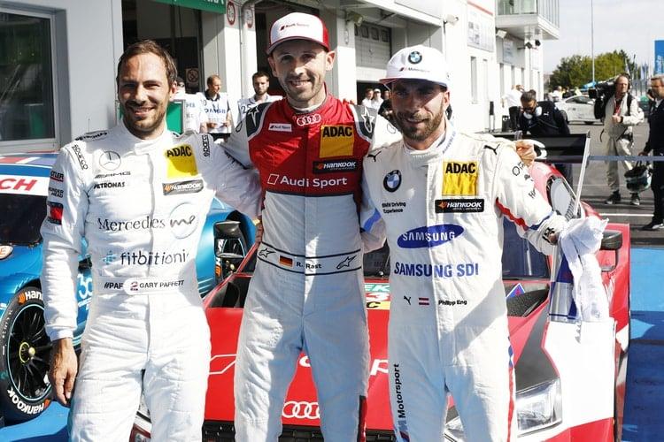 Rene Rast, Audi Sport Team Rosberg- Pole Position, Nurburgring