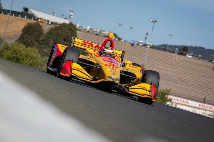 Ryan Hunter-Reay (USA), Andretti Autosport, 2018 Verizon IndyCar Series, Sonoma Raceway