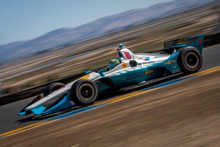 Patricio O'Ward (MEX), Harding Racing, 2018 Verizon IndyCar Series, Sonoma