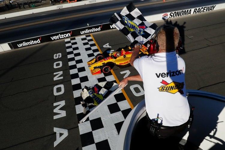 Ryan Hunter-Reay (USA), Andretti Autosport, 2018 Verizon IndyCar Series, Sonoma