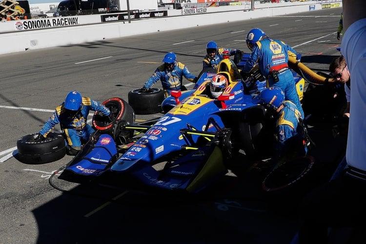 Alexander Rossi (USA), Andretti Autosport, 2018 Verizon IndyCar Series, Sonoma