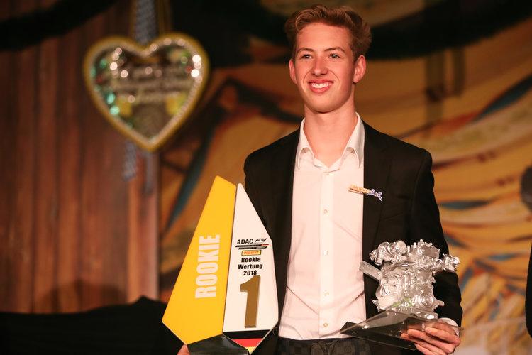 David Schumacher at the ADAC awards evening