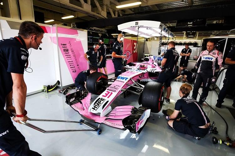 Esteban Ocon - Racing Point Force India F1 Team - Circuit of the Americas