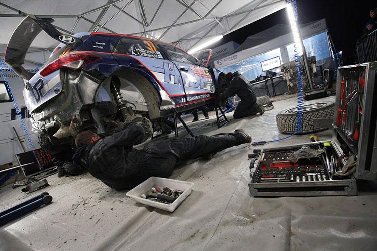 Jari Huttunen - Hyundai Motorsport