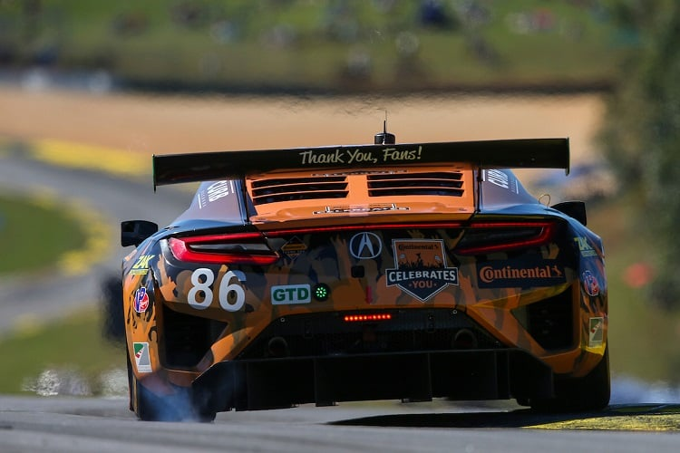 Katherine Legge, Alvaro Parente & Trent Hindman - Meyer Shank Racing - Petit Le Mans