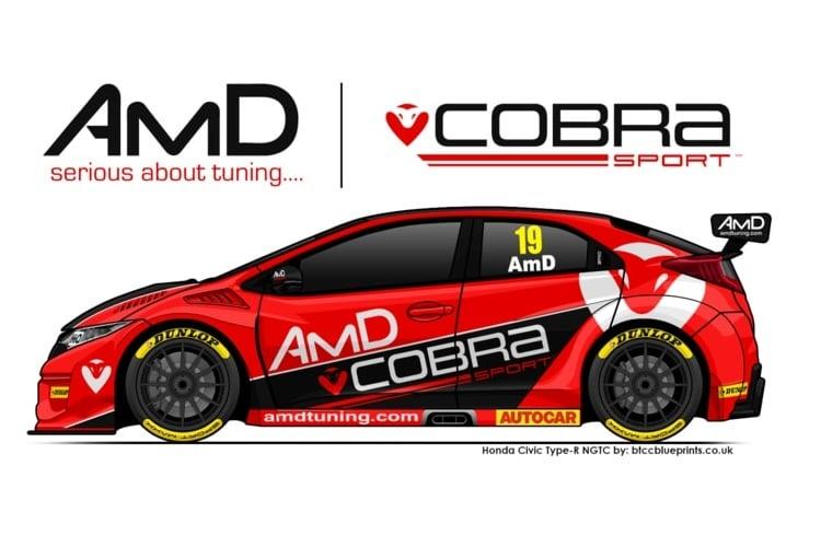 Cobra Sport AmD Mock-up