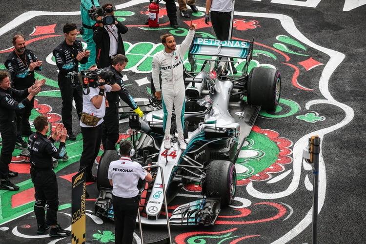 Lewis Hamilton - 2018 Mexico GP