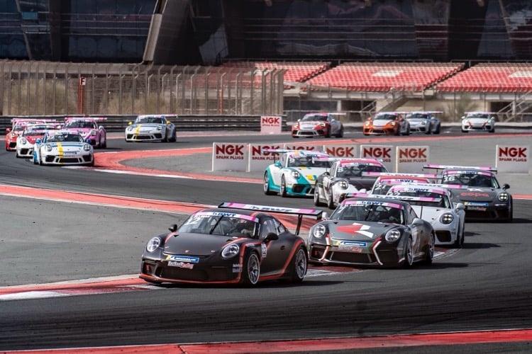 Tio Ellinas - Credit: Porsche BWT GT3 Cup Challenge Middle East