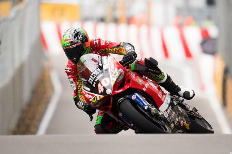 Martin Jessopp on Macau GP front-row