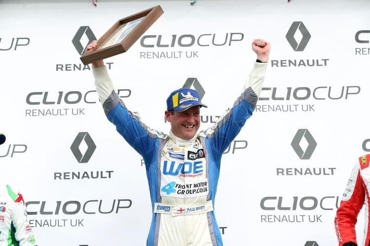 Paul Rivett Clio Cup