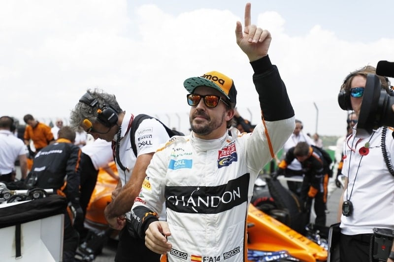 Fernando Alonso - Formula 1 - 2018 Brazilian GP
