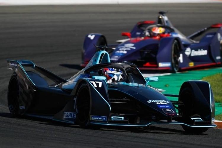 Gary Paffet testing for HWA Racelab during Formula E preseason testing