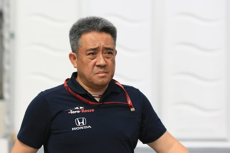 Masashi Yamamoto - Red Bull Toro Rosso Honda - F1