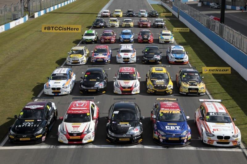 BTCC 2015 line up