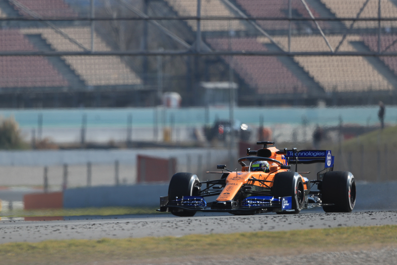 Lando Norris - McLaren F1 Team - Pre-Season Test 1 - Circuit de Barcelona-Catalunya