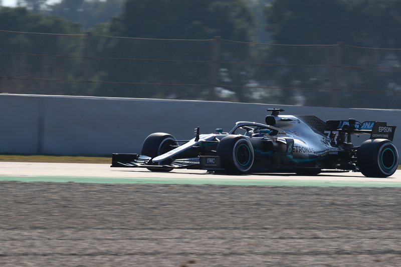 Valtteri Bottas - Mercedes AMG Petronas Motorsport - Pre-Season Test 1 - Circuit de Barcelona-Catalunya
