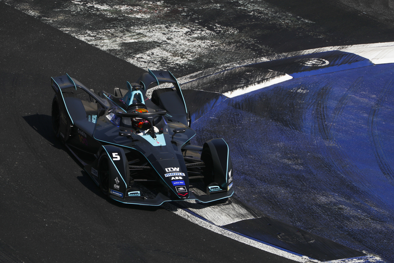Stoffel Vandoorne - HWA RACELAB at the 2019 Mexico City E-Prix