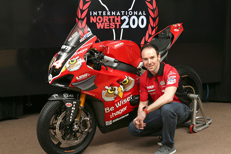 Alastair Seeley joins PBM Be Wiser Ducati for NW200