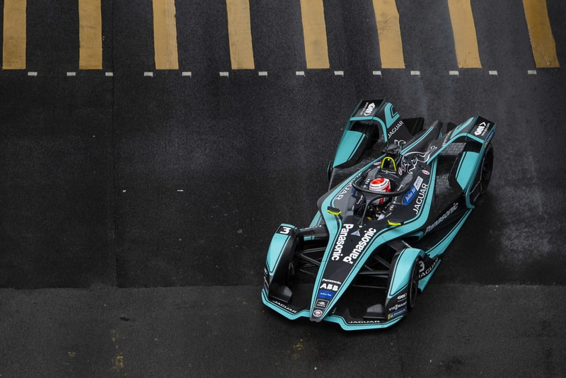 Nelson Piquet Jr- Panasonic Jaguar Racing- Hong Kong