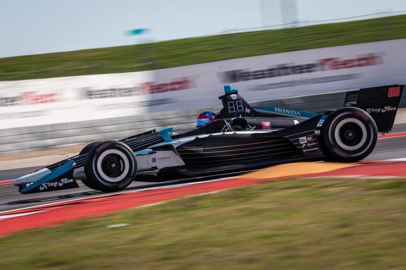 Colton Herta (USA), Harding Steinbrenner Racing, 2019 NTT IndyCar Series, Circuit of the Americas, Practice