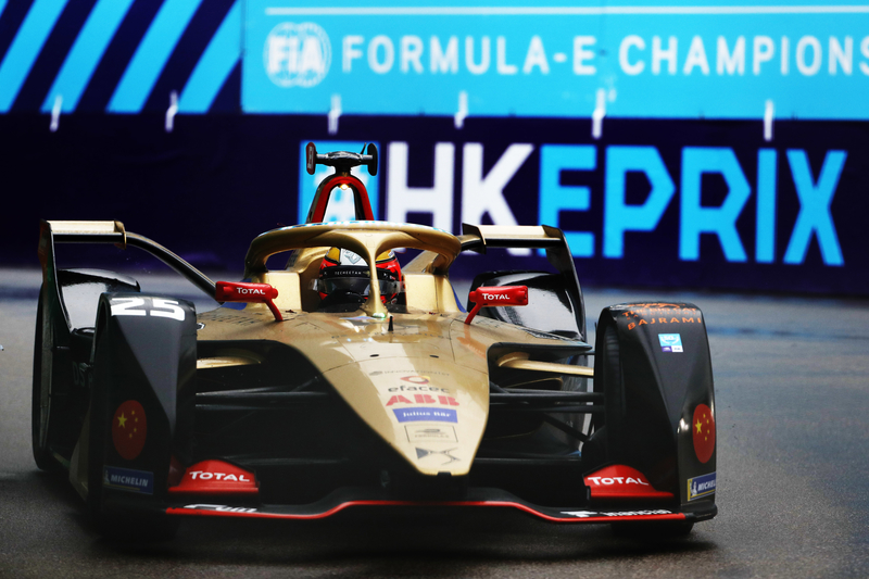 Jean-Eric Vergne - DS Techeetah at the 2019 Hong Kong E-Prix - Practice