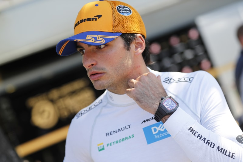 Carlos Sainz Jr at Australia 2019