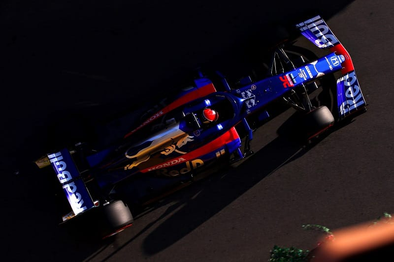 Daniil Kvyat - Red Bull Toro Rosso Honda - Baku City Circuit