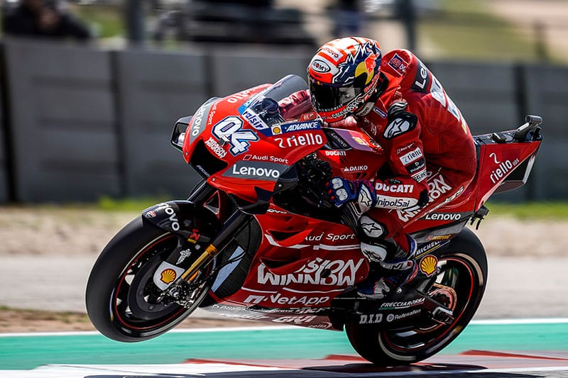 Dovizioso back on top after COTA Fourth