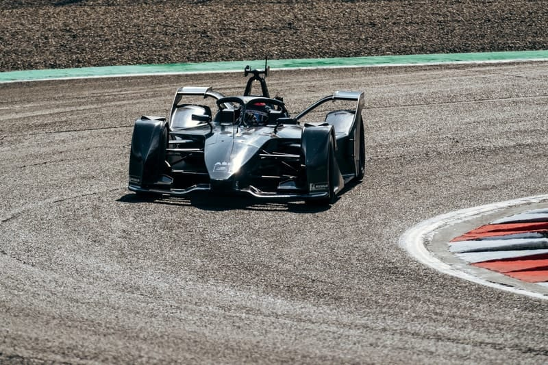 Mercedes-Benz Formula E car