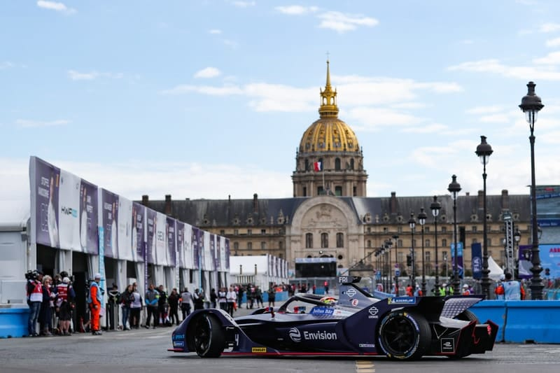 Robin Frijns - Envision Virgin Racing - Circuit Des Invalides