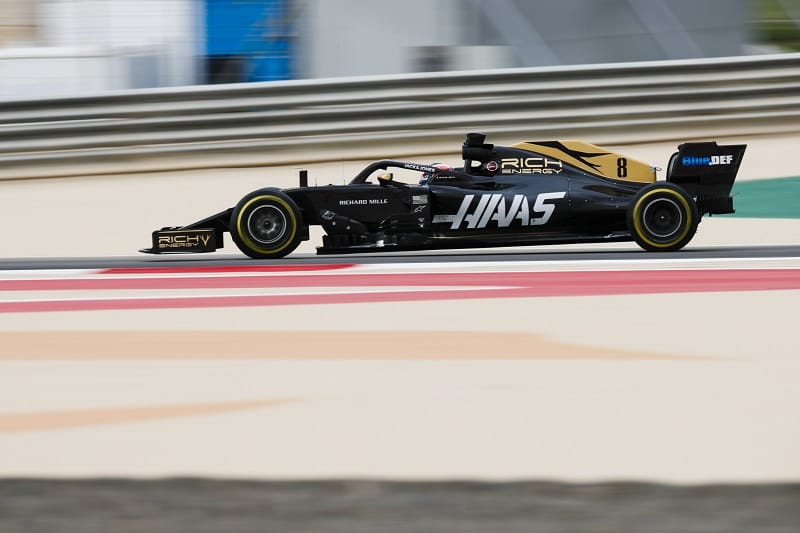 Romain Grosjean - Rick Energy Haas F1 Team - Sakhir International Circuit