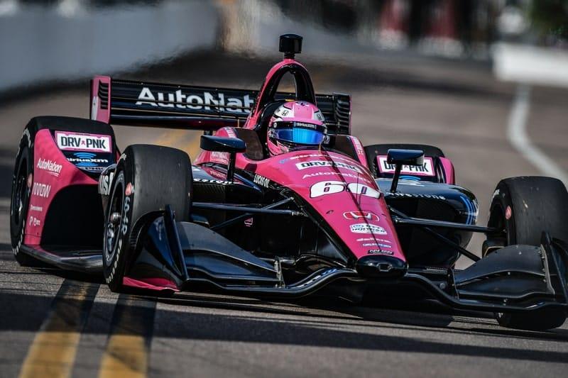 Jack Harvey (GBR), Meyer Shank Racing, 2019 NTT IndyCar Series, St. Petersburg