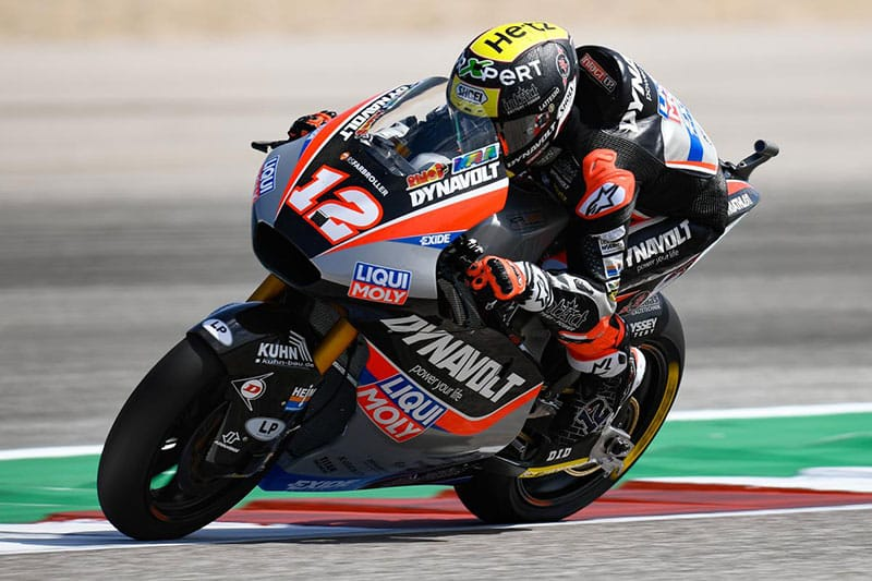 Thomas Luthi wins Moto2 at COTA