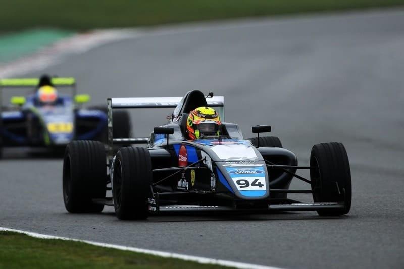 Sebastian Alvarez, Brands Hatch.