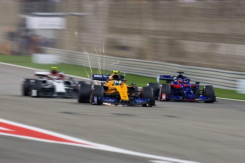 Lando Norris, Daniil Kvyat & Antonio Giovinazzi - Formula 1 - 2019 Bahrain GP