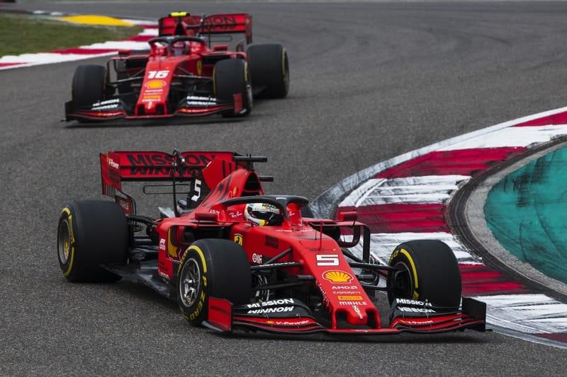 Sebastian Vettel & Charles Leclerc - Formula 1 - 2019 Chinese GP