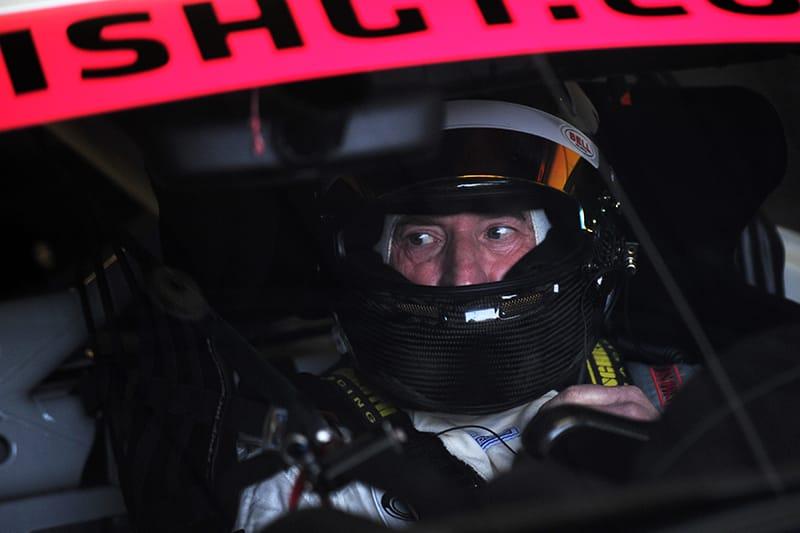 Dino Zamparelli in the GT Marques Porsche 718 Cayman Clubsport GT4.