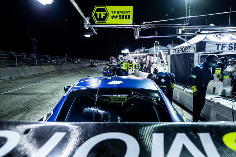 TF Sport have applied for their second season of the FIA World Endurance Championship .